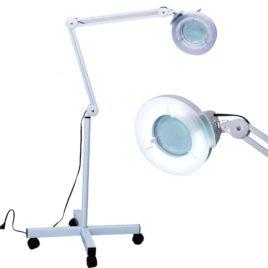 Лампа-лупа напольная кольцевая LT-10A 8x