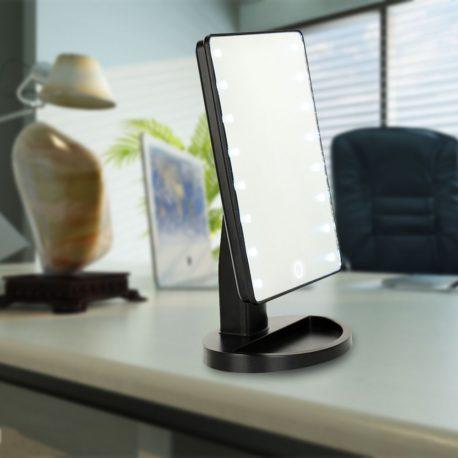 LED Зеркало с подсветкой для макияжа 20 cветодиодов