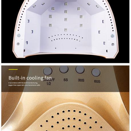 Гибридная лампа SUN One Plus 48w 2в1 LED/UV