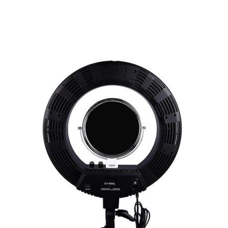Лампа кольцевая Bi-COLOR CY-R50L 18′ 50W с сумкой и штативом Salontool.ru 2