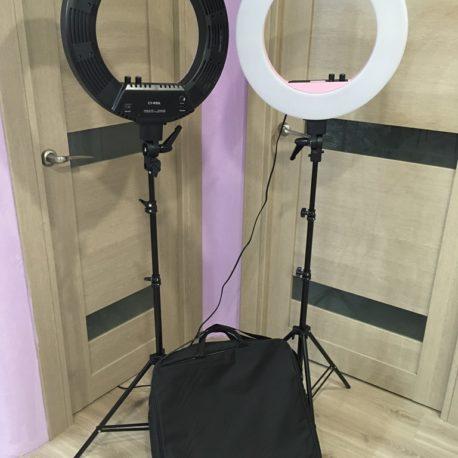 Кольцевая Лампа Bi-COLOR CY-R50L 18 50W с сумкой и штативом - Salontool.ru