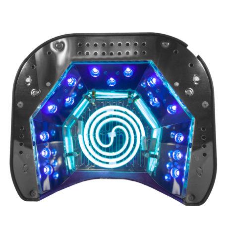 Гибридная CCFL+LED лампа 48W Professional Nail Бирюзовая 2 Salontool.ru