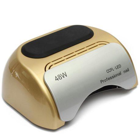 Гибридная CCFL+LED лампа 48w Professional Nail Золотая Salontool.ru