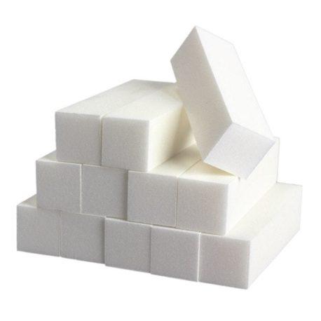 Бафы для маникюра шлифовальный белый, 10шт