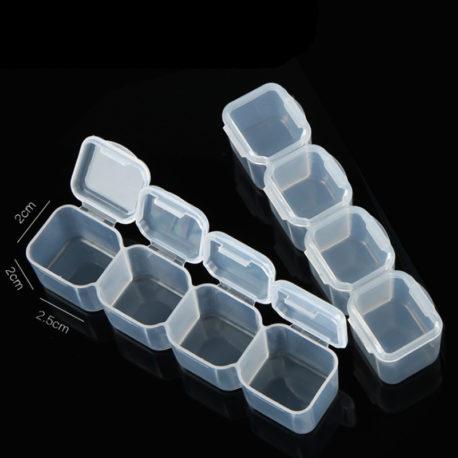 Контейнер пластиковый 28 отсеков для мелочей 17*10*2,5см