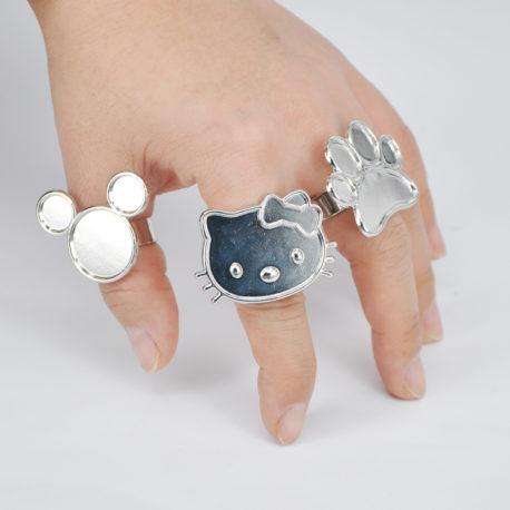 Палитра-Hello Kitty-для смешивания красок-3-Salontool.ru
