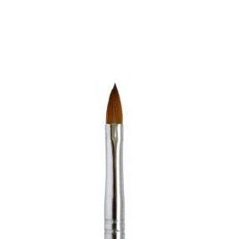 Кисть EzFlow №4, норка, деревянная ручка, 1 шт