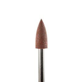 Фреза-полировщик Силикон-карбидный, грубый, коричневый, конус заостренный 4мм