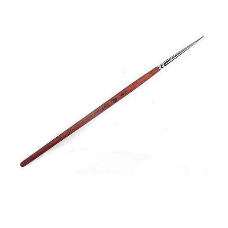 Кисть волосок EzFlow №2, деревянная ручка (1шт)