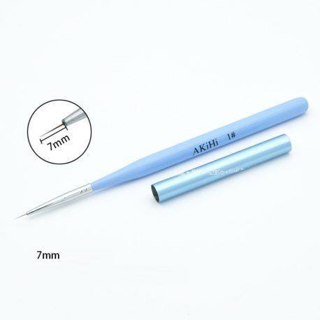 Набор кистей AKiHi для дизайна, волосок, деревянная ручка, 4шт