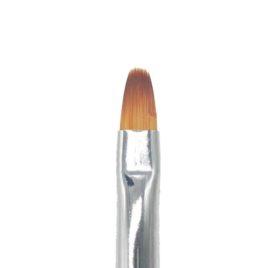 Кисть для дизайна EzFlow №6 без углов, норка, деревянная ручка (1шт)
