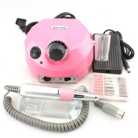 Машинка для маникюра и педикюра JMD-202 35000 об/м Розовая