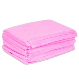 Простыня одноразовая розовая, 200х70см, спанбонд, 20шт