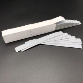Сменные файлы ATIS Бело-серые на основу L 155 на 18мм от Salontool.ru