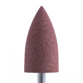 Фреза-полировщик Силикон-карбидный, грубый, коричневый, конус заостренный 10мм