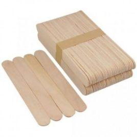 Шпатель деревянный для депиляции, 100шт Salontool.ru