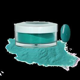 Пудра акриловая Fantasy Nails цветная для моделирования Azure Sea, 10гр Salontool.ru