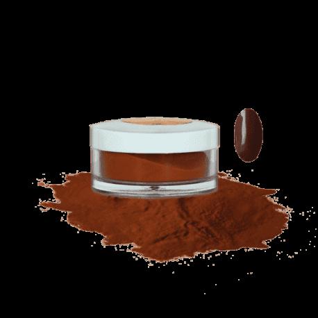 Пудра акриловая Fantasy Nails цветная для моделирования Hot Chocolate, 10гр Salontool.ru
