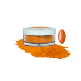"""Пудра акриловая Fantasy Nails цветная для моделирования """"Ripe Orange"""", 10гр"""