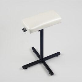 Плоская педикюрная подставка (белый валик) MAX