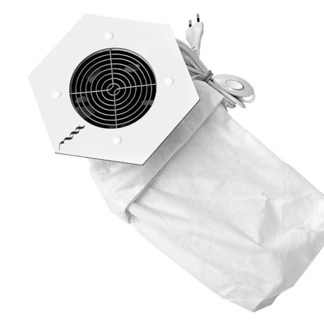 Мощный встраиваемый пылесос MAX Storm 3 32Вт Белый