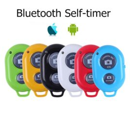 Кнопка-Bluetooth для смартфонов iOS, Android для сэлфи, камеры