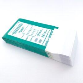 Крафт-пакеты для стерилизации с индикатором, комбинированные, МедТест 60х100мм, 100шт на Salontool.ru
